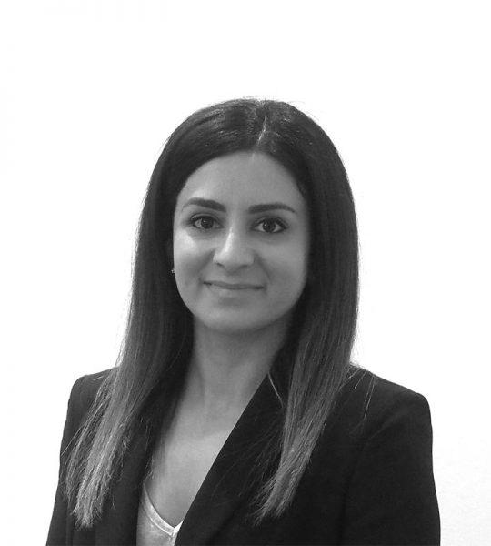 "Amra Sabou <br/><font size=""3""> (Consultant Lawyer)</font>"